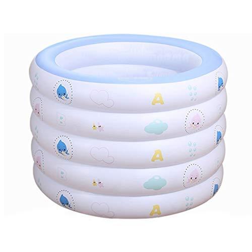 FGF Aufblasbare badewanne Baby kinderheim neugeborenen Schwimmbad Dicke badewanne Baby schwimmring (id: i029) 123 (Color : A)