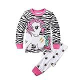 8d83398506e42 YuanDiann Garçon Fille Pyjama Dessin Animé Impression Vêtements De Nuit 2  Pièces Ensemble Enfant Manche Longue