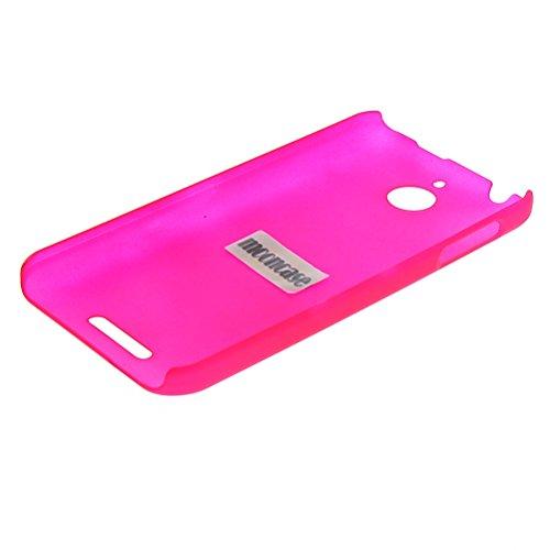 MOONCASE Hard Shell Cover Housse Coque Etui Case pour Apple iPhone 6 ( 4.7 inch ) Noir Hot Rose