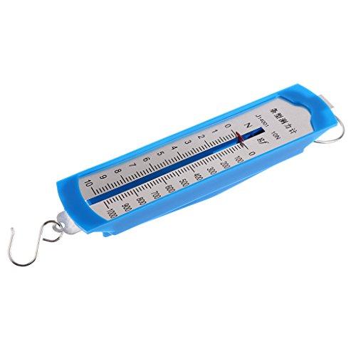 Carta del tamaño:      L x W: Aproximadamente 15,2 x 3,5 cm / 5,98 x 1,38 pulgadas         El paquete incluye:      Dinamómetro de resorte de 1 pieza