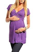 Purpless Maternity Umstands V-Ausschnitt Top Tunika 5058