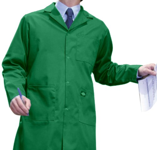 Dickies Workwear Unisex Kittel Redhawk Berufsmantel WD200 Lincoln Green XXL - Dickies Kittel