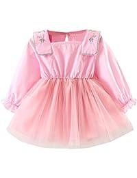 Amazon.it  gonna lunga rosa - Gonne e gonne pantalone   Bambine e ... 6d277ddf29f