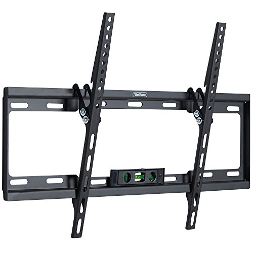 "VonHaus 37-70"" Tilt TV Wall Mount Bracket with Built-In Tri Spirit Level for LED, LCD, 3D, Curved, Plasma, Flat Screen Televisions - Super Strong 35kg Weight Capacity"
