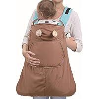 ca346f239c9a Manteau de Portage Coupe-Vent Hiver Porte bébé 0-3 ans Transporteur de Maman