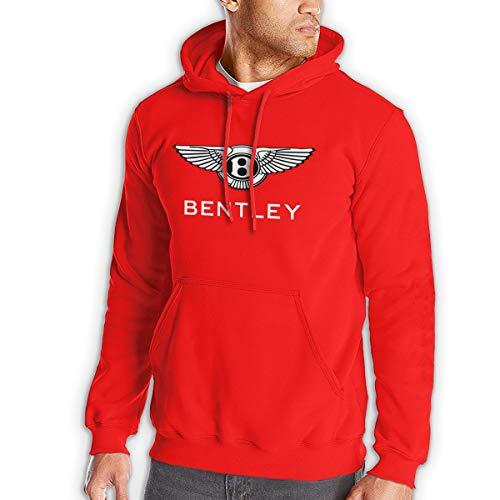 Herren Schwarz Hoodies Sweatshirt Bentley Langarm Pullover Mit Pocket Hoodie Jacke XL