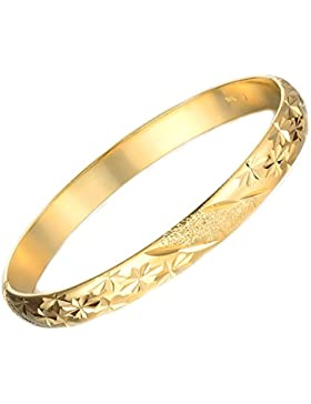 AnaZoz Modeschmuck Aramband 18K Gold Plattiert Armreifen für Damen Frauen