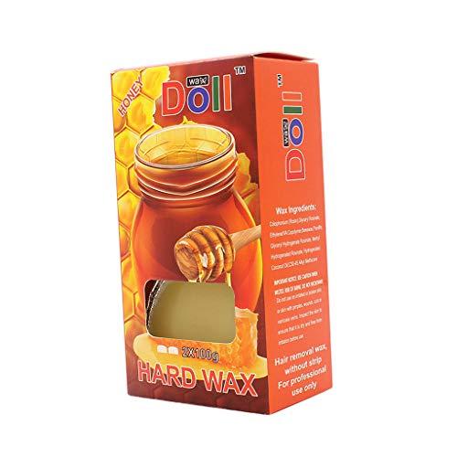 Honig Kalt Wachs (P PRETTYIA 200g Heißer Film Wachs Bohnen Enthaarungs Körper Arm Bein Haarentferner Schmerzlos - Honig)