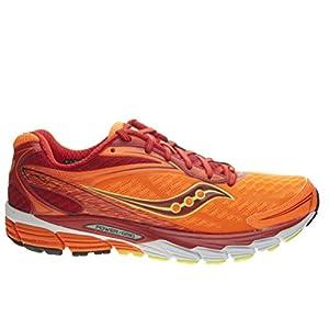 Saucony Ride 8 - Zapatillas de running unisex, color azul / amarillo / naranja, - Arancione, 45