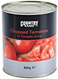 Country Range Chopped Tomatoes in Tomato Juice - 6x800g