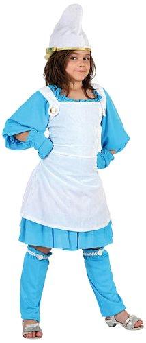 Atosa 07034 Costume da puffetta, 7/8 anni