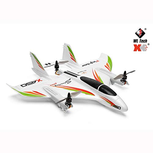 SUNFANY RC Drone WLToys 450 2.4G WiFi FPV Bürstenlos RC Vertical Takeoff and Landing Drone