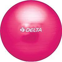 Delta Unisex Pilates Egzersiz Topu 55 Cm Ds 655, Fuşya, Tek Beden