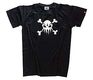CTHULHEAD cthulhu skullhead T-Shirt Schwarz S
