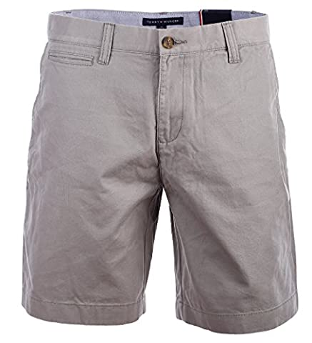 Tommy Hilfiger Herren Chino Shorts kurze Hose Bermuda grau Größe 36