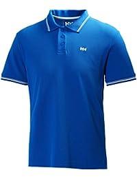 Helly Hansen Kos Ss, Polo Homme, Bleu, XXX-Large