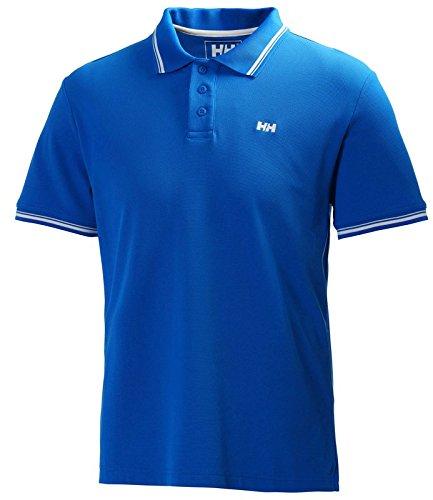 Helly Hansen Herren Polo Kos Short Sleeve, 50565 blau