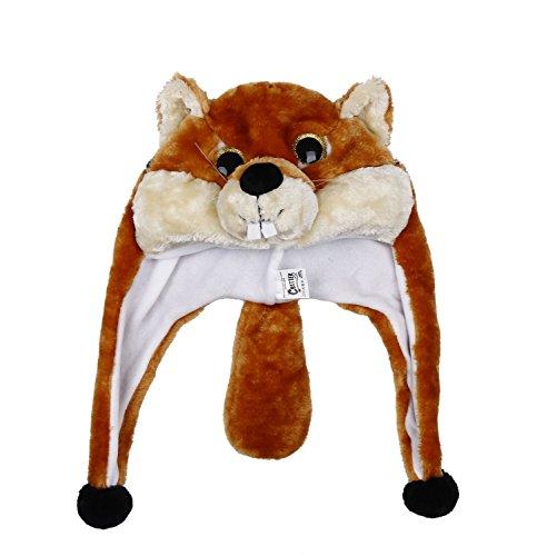 tze Hut Kopfbedeckung Kostüm Karneval Cap 3Hat Fuchs (Süsse Fuchs Kostüm Kind)