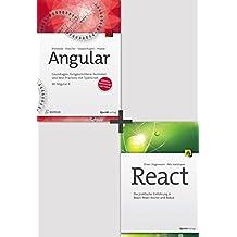 Angular und React (Bundle): Zwei Toptitel zum Vorzugspreis