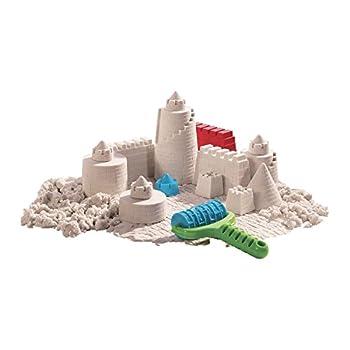 Goliath 83219 - Super-sand-set Castle, Modellierbarer Magischer Sand Bringt Burgen Ins Kinderzimmer, Handliche Sandkasten-box, Bunte Burg-förmchen, Ab 4 Jahren 3