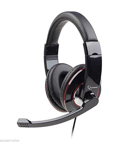 gembird-gaming-headset-stereo-kopfbugel-kopfhorer-gepolstert-mikrofon-pc-computer-spiele-zocker-schw