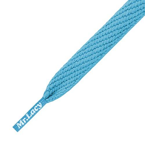 Mr Lacy lacets Flatties-doux-Bleu