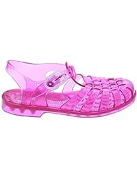Sandalias de baño rosa
