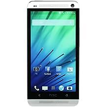 """HTC One - Smartphone libre Android (pantalla de 4,7"""" 1080x1920, cámara Ultrapixel 4 Mp, 32 GB de capacidad, 4 procesadores de 1.7 GHz, 2 GB de RAM) color plateado [importado de Alemania]"""