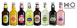 Fentimans Lemon Shandy,mandarin & Seville Orange Jigger, Cherry Cola, Victorian Lemonade,ginger Beer, Wild English Elderflower, Curiosity Cola, Rose Lemonade Inkl. Pfand (8 X 0.275 L)