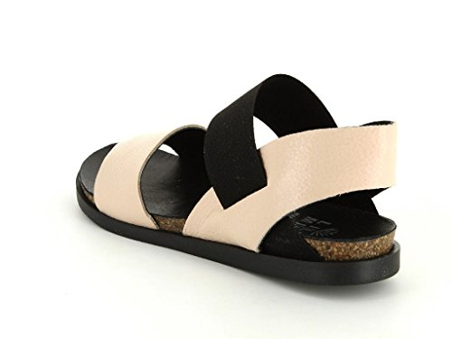 Lilimill 5804QKND Damen Sandale & Pantolette in Mittel Rosa