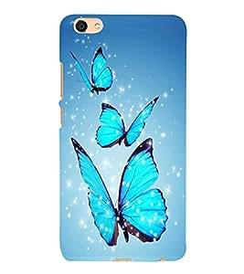 PrintVisa Designer Back Case Cover for Vivo X7 Plus (leaf waterflower paint frame pattern)