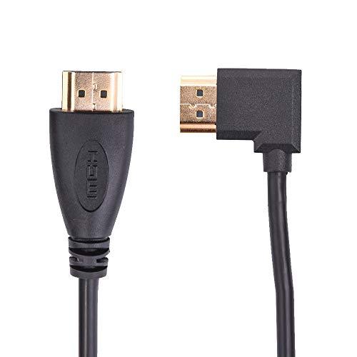 Cyond 0.5m HDMI Adapter Converter Öffentlicher Support 1080P HDMI-Kabel für HDTV- und DVD/TV-Set-Top-Box/Satellitenempfänger/Kamera-Anschluss sowie andere HDMI- oder DVI-Schnittstellen, Projektoren