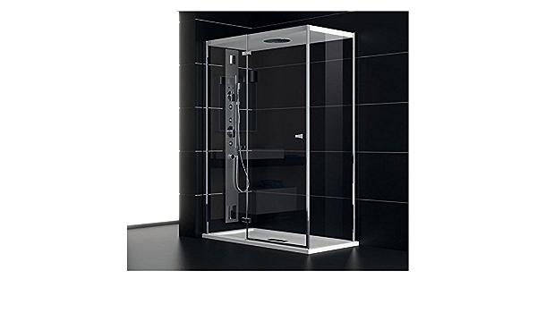 Teuco Box Doccia Porta Battente 120x80cm Nc8b6 Chapeau Amazon It Fai Da Te