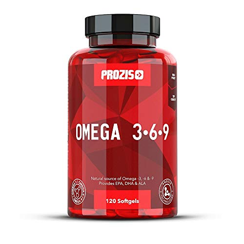 Prozis Omega 3:6:9 120 Cápsulas - Complemento con una Fórmula Esencial de...