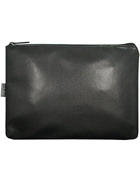 Gastro Banktasche, 123690 002, Damen und Herren Banktasche, schwarz, Kunstleder