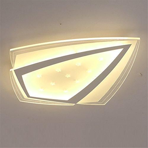 Preisvergleich Produktbild Malovecf Moderne LED Acryl Deckenleuchten Fr Schlafzimmer Wohnzimmer Fernbedienung Deckenleuchte Super Dnne