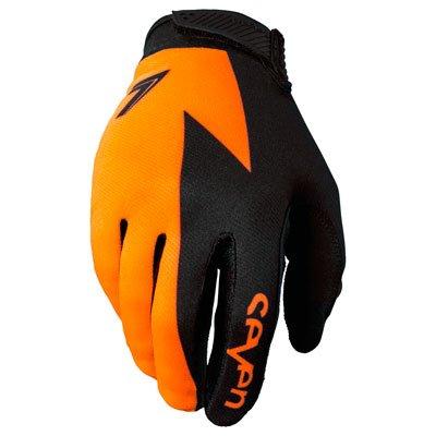 Sieben MX 17,1Annex Volt Erwachsene Handschuh, Flo Orange, Größe M - Fox Racing Mädchen Handschuh