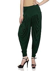 Sakhi Sang Womens Viscose Dhoti Salwar [SS0818_Free Size_Green]