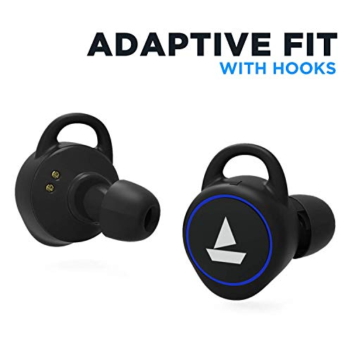 boAt Airdopes 311v2 True Wireless Earbuds (Bluetooth V5.0) with HD Sound and Sleek Design, Integrated Controls with in-Built Mic and 500mAh Charging Case (Energetic Black) Image 2