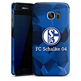 DeinDesign Premium Case kompatibel mit Samsung Galaxy S7 Hülle Handyhülle FC Schalke 04 Camouflage S04