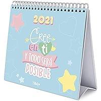 ERIK - Calendario de Escritorio 2021 Carouge, 17x20 cm