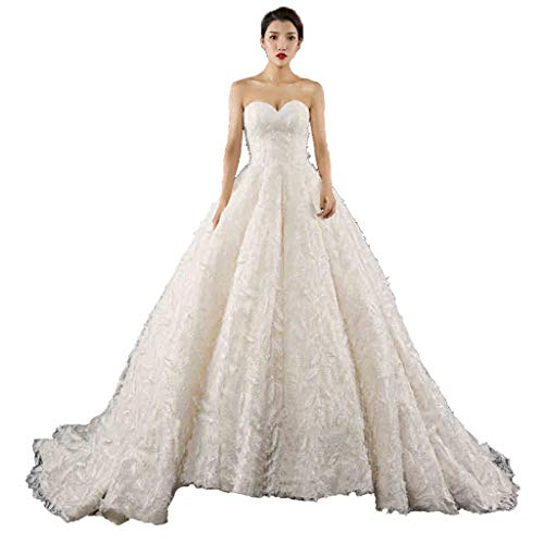 Frauen-Hochzeits-Kleid eine Schulter, dünnes justierbares Band-Braut-Prinzessin war dünnes großes...