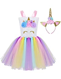 Amazon Fr Robe Licorne Fille Vêtements