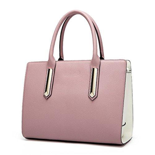 Handtasche Lightblue Bag Schulter Mode Damen Farbe Einfache Messenger Hit Einkaufstasche wqBSxzX