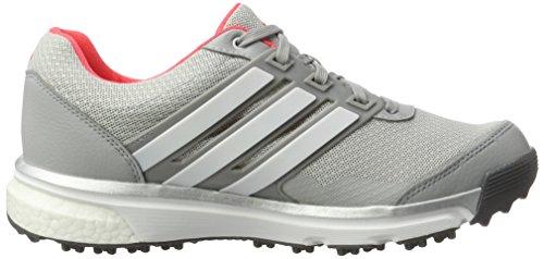 separation shoes d8522 3004e ... Chaussures De Golf Adidas W Adipower Sport Boost-2 Pour Femme Gris    Rouge