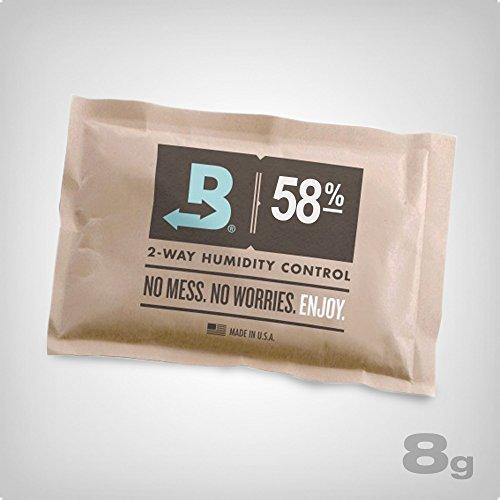 Boveda 58% RH 2-Way Humidity Control, 10 x 8 Gram - by 58