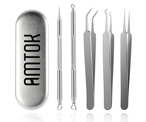 amtok-blackhead-remover-tool-kit-acne-pimple-comedone-extractor-tool-set-5-in-1-blemish-removal-tool