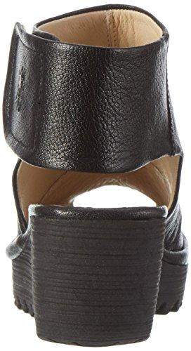 Fly London - Yone642fly, Scarpe col tacco Donna Nero (black 000)