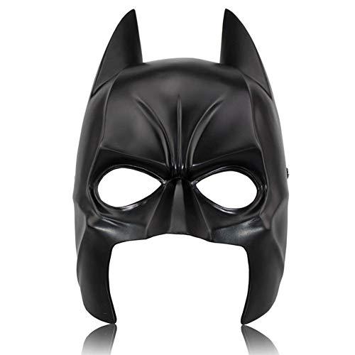 Jugendliche Batman Kostüm Für - WAZX Halloween Maske Batman Maske Prom Horror Harz Maske Kopfschmuck Spielt Kostüm Zubehör Zubehör Weihnachten Karneval Party Maske Black