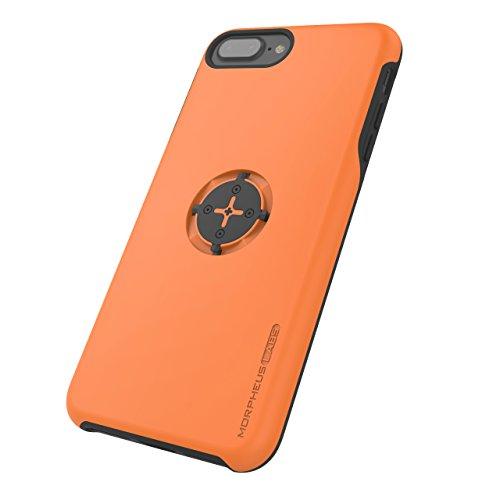 MORPHEUS LABS M4s iPhone 7 Plus Hülle, Schutzhülle für Apple iPhone 7 Plus, Case passend für M4s Halterung/Mount mit patentiertem magnetischem Schnell-Verschluss orange [Orange]